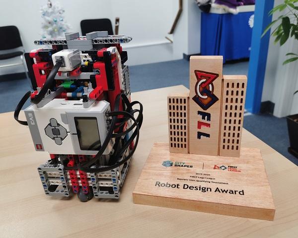 We Won Robot Design Award!